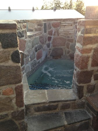 Ste. Anne's Spa: The cold plunge pool (good for circulation)