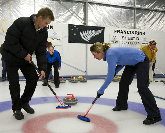 Indoor Curling Rink: Learn the art of curling.