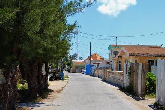 Resorts World Bimini: Streets of Bimini by golf cart