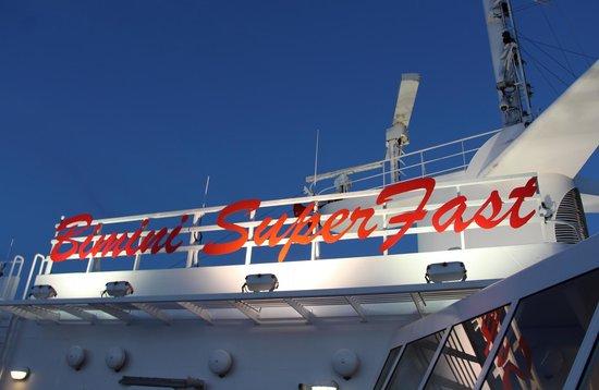 Resorts World Bimini: At the ship