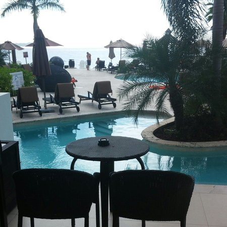 Secrets Wild Orchid Montego Bay: Swim out in Wild Orchid room 1114.
