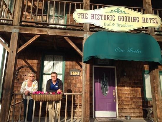 The Historic Gooding Hotel B&B, mei 28, 2014