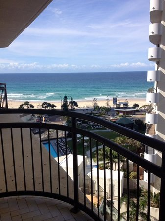 Beachcomber Resort Surfers Paradise : View from our room 1002