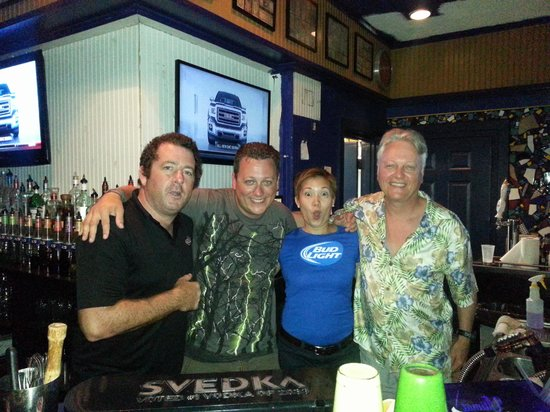 Stinger's: Me and my dad with Phil and Jinkie