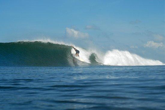 La Barra Surf Resort Surfing On The Beach In Playa Miramar