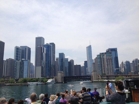 Chicago's First Lady Cruises: View of Chicago from Lake Michigan
