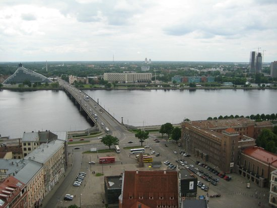 View of Riga from St Peter's Church Tower: вид3