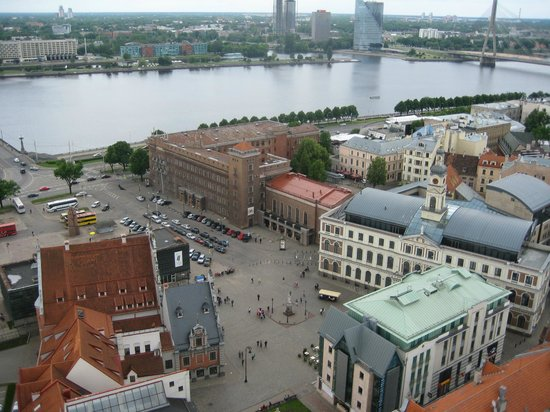 View of Riga from St Peter's Church Tower: вид5