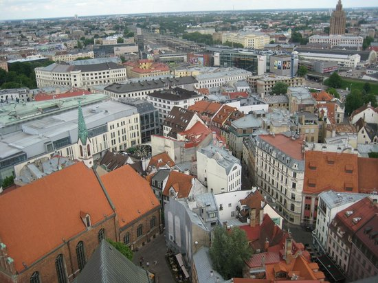 View of Riga from St Peter's Church Tower: вид4