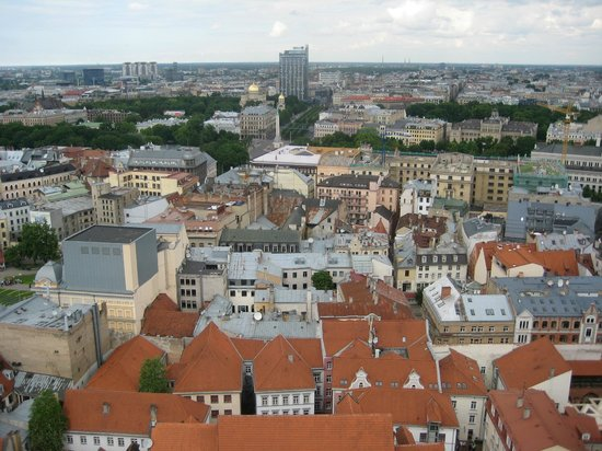 View of Riga from St Peter's Church Tower: вид6
