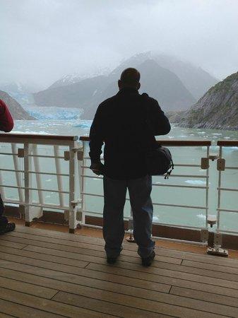 Sawyer Glacier : From the Deck of the Disney Wonder