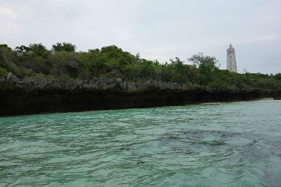 Chumbe Island Coral Park: West end of Island