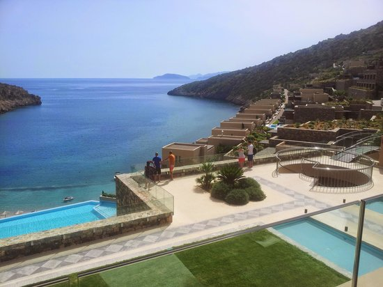 Daios Cove Luxury Resort & Villas : from our balcony