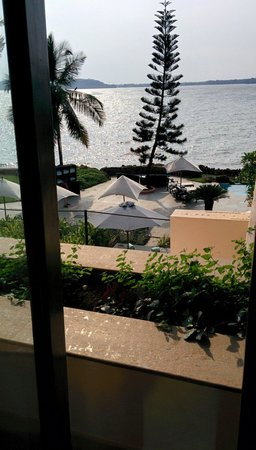 Goa Marriott Resort & Spa: View from front desk