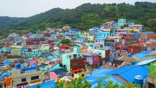 Gamcheon Culture Village: View 1