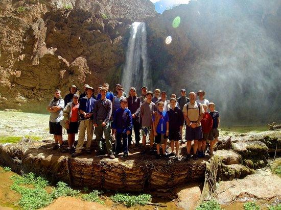 Havasupai Falls : Troop 131, Scottsdale, AZ