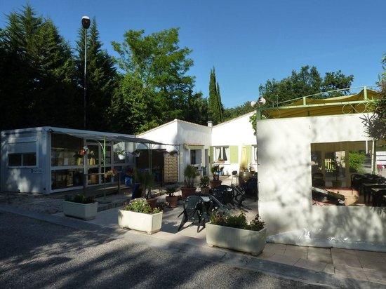 Camping Domaine de la Coronne : Accueil