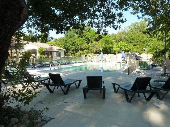 Camping Domaine de la Coronne : La piscine