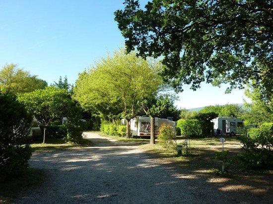Camping Domaine de la Coronne: Emplacements camping