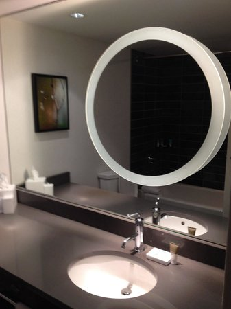 Hyatt Regency Vancouver: Hotel featured stunningly modern washrooms.