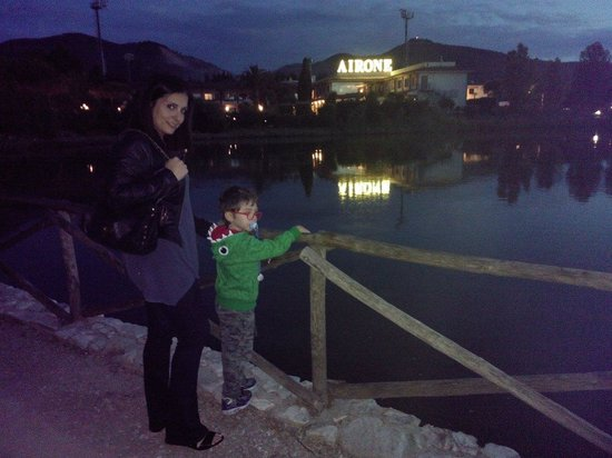 Hotel Airone del Parco & delle Terme : Di sera