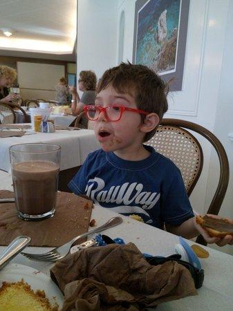 Hotel Airone del Parco & delle Terme : Buona la colazione