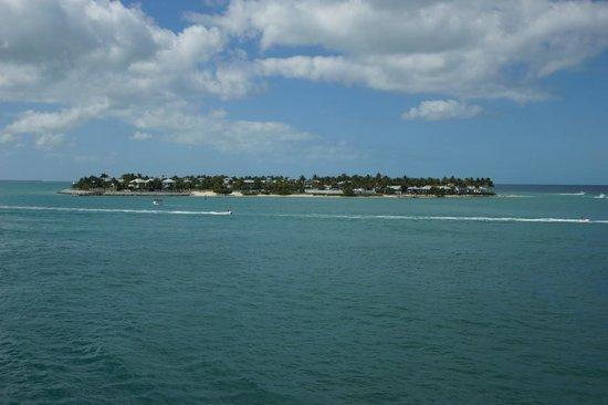 Ocean Key Resort & Spa: バルコニーから朝の眺め