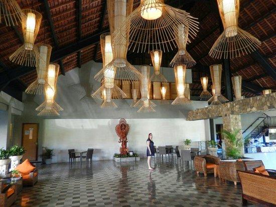 The Oasis Lagoon Sanur : The lobby
