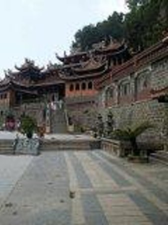 Anxi County, China: qingshui rock temple
