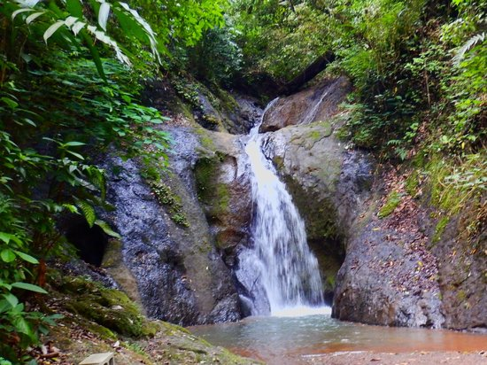 Costa Rica Waterfall Tours: first waterfall you see