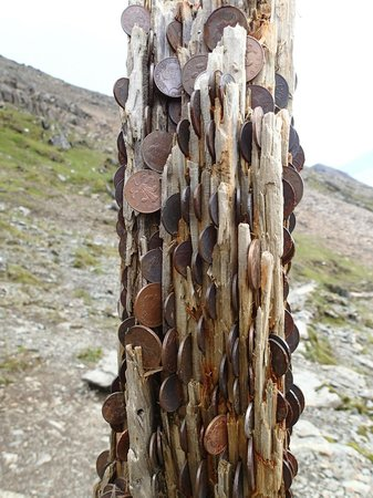Snowdon: The 'penny post' on the Pyg/Miners track