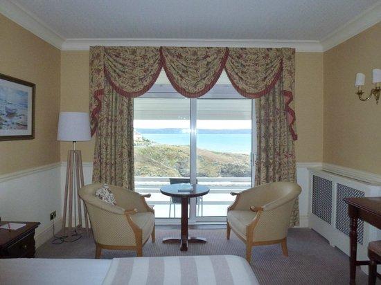 Watersmeet Hotel: Beautiful view from Room 4
