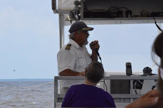 Cap'n Rod's Lowcountry Plantation Tours: Capt Rod during our tour