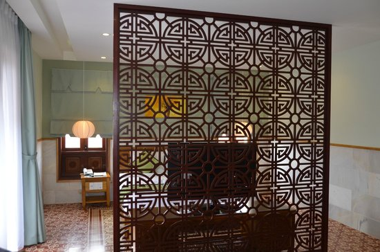 Green Heaven Resort & Spa: Nice light & design