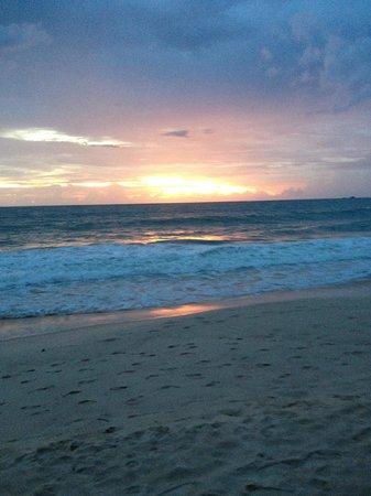 Dusit Thani Laguna Phuket: one of the fab sunsets