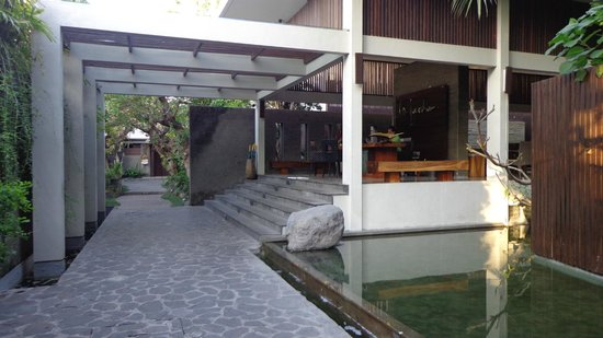 Le Jardin Boutique Villas, Seminyak: Reception