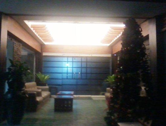 Hotel Elena: the hotel lobby
