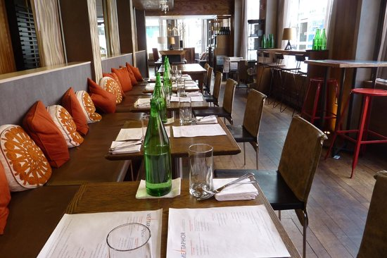 Duane Street Hotel: The Metaphor restaurant