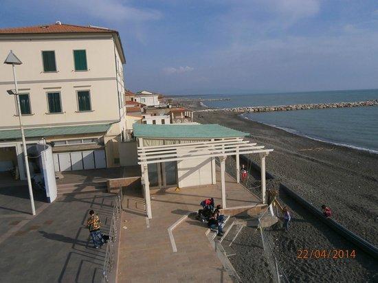 Hotel Tornese: Bellissimo scorcio della spiaggia vicino all'Hotel