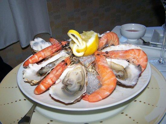 Hotel de la Cite Carcassonne - MGallery Collection : Outstanding appetizer at La Marquiere Restaurant.