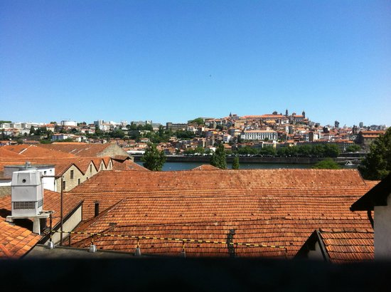 Carris Porto Ribeira: View from Junior suite 502