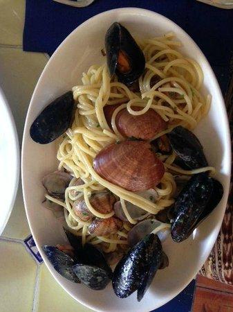 Osteria da Bartali : Spaghetti frutti di mare