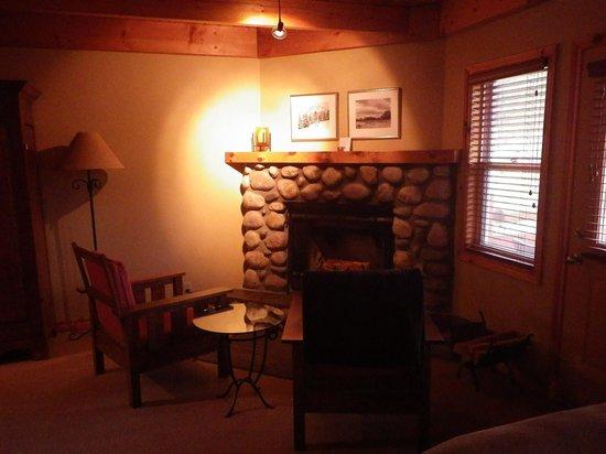 Buffalo Mountain Lodge: 暖炉