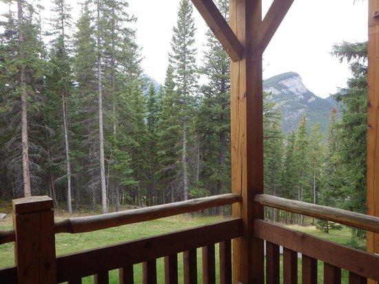 Buffalo Mountain Lodge: 1階テラス