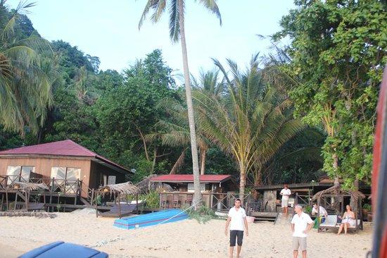 Melina Beach Resort Pulau Tioman Malaysia: The Resort