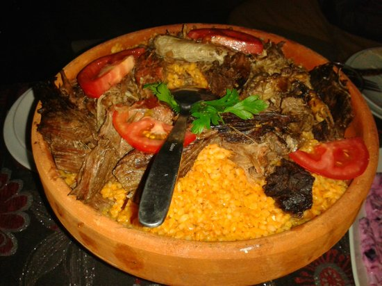 Dervis Evi Whirling Dervishes: Tasty Lamb dish