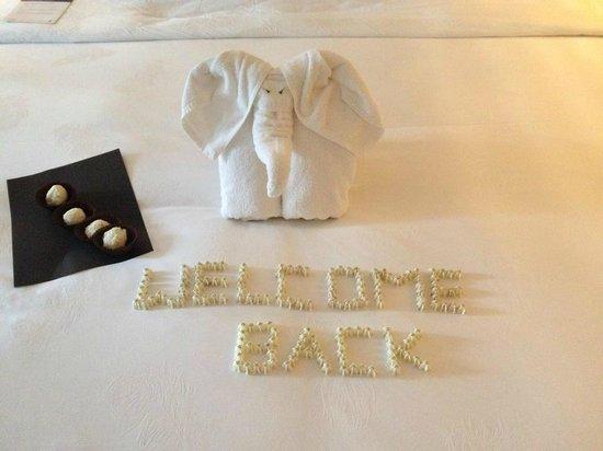 JW Marriott Khao Lak Resort & Spa : Welcome Back!