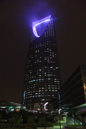 Tour du Kingdom Centre : Night time
