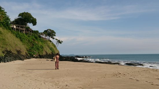 Kantiang Bay : beach to the south
