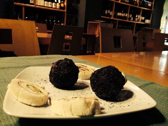 La Bottiglieria Food&Wine: Arancini al riso nero...